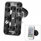 OQsport OQ-12XZ 360 Degree Rotary Car Holder w/ Suction Cup for iPhone 4 / 5 + More - Black