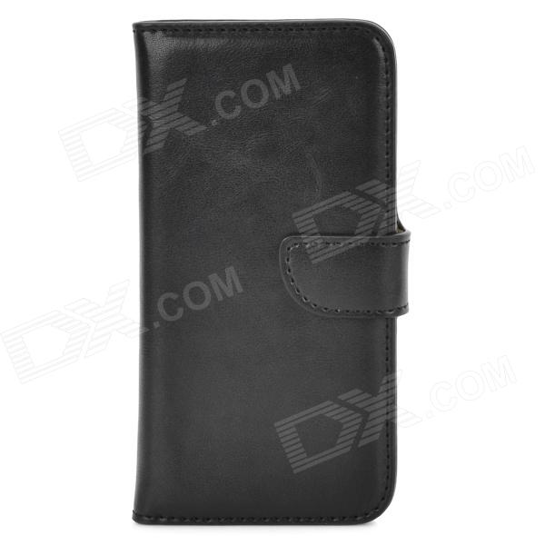 DYTI-003 Protective PU Leather + PC Case for Iphone 5 / 5s - Black гарнитура harper hb 108 white