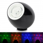 256-2  Touch 3W LED Colorful Lamp / Music Speaker w/ TF / Mini USB - Black
