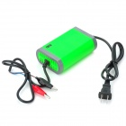 YX12V-2A 12V 2A Motorcycle / Electronic Vehicle / Car Intelligent Battery Pulse Charger (US Plug)