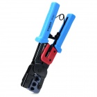 R'DEER RT-933 Multifunctional Ratchet Wire Crimpers Pliers - Light Blue + Red