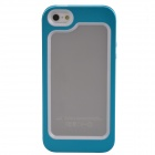 Zomgo Stylish Protective Aluminum Alloy + Silicone Bumper Frame for Iphone 5 / 5s - Light Blue