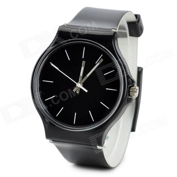 47089 Sports Men's Quartz Wrist Watch - Black