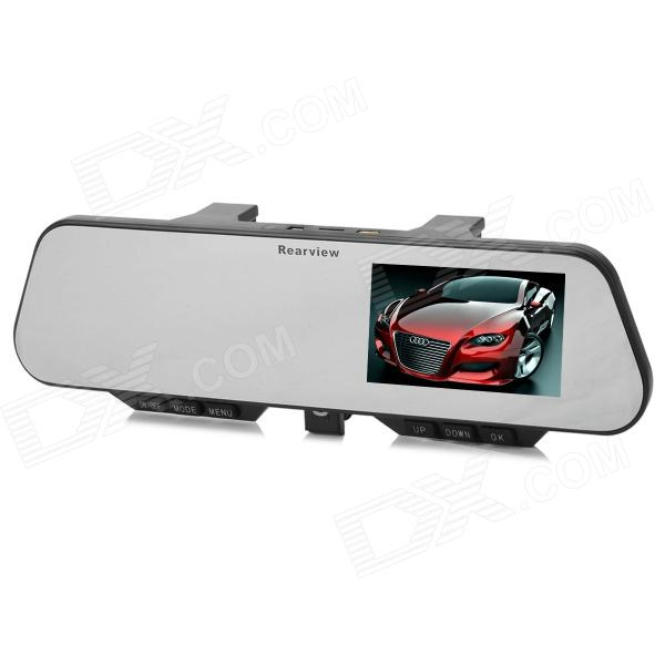 """1080P 4.3"""" TFT CMOS 5.0MP Wide Angle Rearview Mirror Car DVR w/ Plugging Bluetooth v3.0 + EDR Device Roseville товары новое"""