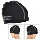 SAHOO 46862-1 Windproof Universal Four Seasons Lycra Helmet Cap - Black (Free Size)