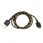 LIDU T-N2 Micro USB 9-Pin to USB 3.0 Data Sync / Charging Cable for Samsung Galaxy Note 3 - Black