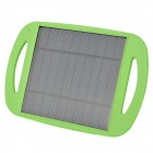 Foldable 2.5W USB Solar Powered Charging Panel - Green