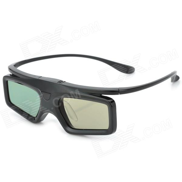Plastic 3D Active Shutter Glasses for Kids - Black (1 x CR2032)