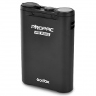 GODOX PB820S External 2000mAh Quick Charging Battery Box for Nikon SB800, SB900 Flashgun - Black