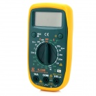 "KJ KJ-39E Portable 2.0"" LCD Digital Multimeter - Yellow + Green (1 x 9V)"