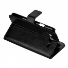 A-556 Protective PU Leather Case w/ Card Holder Slots for Samsung Galaxy S3 i9300 - Black