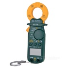 KJ-209 Digital AC / DC Multifunctional Clamp Meter - Green + Yellow