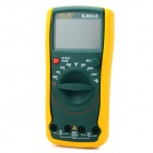 "KJ-6013 3.6"" LCD Display Digital Capacitance Meter Multimeter - Yellow + Green"