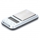WLXY WL-398 200g Mini Digital Scale - Dark Grey + Silver