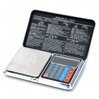 "FLY Techology DP-01A 1.9"" Screen 300g/0.01g Convenient Digital Jewel Scale - Black + Silver"
