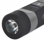 4-in-1 Multifunction Bluetooth V2.1 Speaker / Handsfree Calls + LED Flashlight + Power Bank - Black