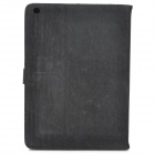 Protective Flip Open PU Leather Case w/ Auto Sleep for Ipad AIR - Black