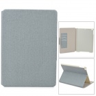 Protective PU Leather Case w/ Card Slot for Ipad AIR - Light Grey