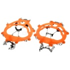HARLEM HL-304 Outdoor Ice Climbing / Mountaineering Shoes Chain Cleat Crampons (Size 44 / Pair)