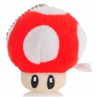 Cute Mario Figure Mushroom Doll Keychain - Small (Assorted Color)