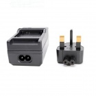 1300mAh Li-ion Battery & Car Adapter & Travel Charger for GoPro Hero 3/3+  BS Plug