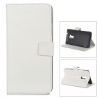 A-556 Protective PU Leather Case for HTC One Max T6 - White