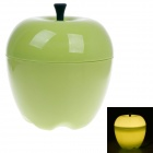 Warm Creative Apple Style Home Furnishing 15W 70lm 6500K White Light Decoration Lamp - Green