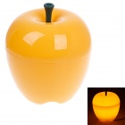 Warm Creative Apple Style Home Furnishing 15W 70lm 6500K White Light Decoration Lamp - Yellow