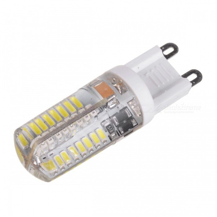 HZLED G9 3W 315lm 6150K 64 x SMD 3014 LED White Light Lamp - White (220V) самокат 978 5 91759 315 9