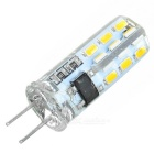 G4 2W 135lm 3250K 24 x SMD 3014 LED Warm White Light Lamp - White (220V)