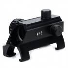 Professional Aluminum Alloy Weaver Gun Sight for MP5-G3 Guns - Black