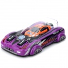 Fun Mini 2-CH Remote Control Vehicle Toy - Black + Orange (2 x AA)