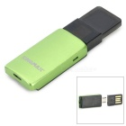 KINGMAX KOTGR-01 OTG TF Card Reader w/ USB Adapter - Green + Black