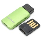 KINGMAX KOTGR-01 OTG TF Card Reader w / adaptador USB - Verde + Preto