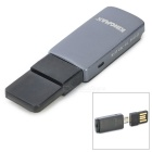 KINGMAX KOTGR-01 OTG TF Card Reader w/ USB Adapter - Dark Grey + Black