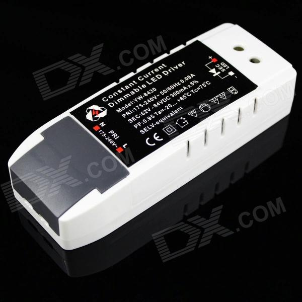 YW8430 20~24W LED Constant Current Dimmable Power Supply for LED Light - (AC 175~240V) - DXOther Accessories<br>1. Adopting long lifespan Ruby electric capacity. 2. Output protection: Short circuit &amp; Over current and Over voltage protection 3. Compatible for LED bulb light spotlight and panel light etc.<br>