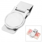 Fashion Stainless Steel Slim Money Clip - Silver