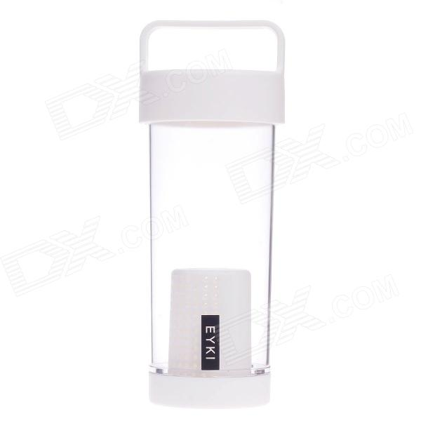EYKI H5019 High-quality Leak-proof Bottle w/ Filter - White (350mL)
