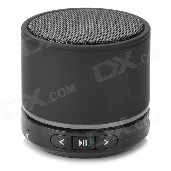 S11 Portable 3W Bluetooth Stereo Speaker w/ Mic, Mini USB, TF - Black