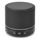 S11 Portable 3W Bluetooth V3.0 Stereo Speaker w/ Mic / Mini USB / TF - Black