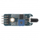 2-Channel Firelight Flame Sensor Module for Arduino DIY Project - Blue + Black (DC 3~5.5V)