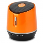 S05 Universal Mini 3W Bluetooth V2.1 Handsfree MP3 Speaker w/ USB / 3.5mm / TF - Orange + Black