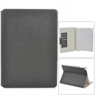 Protective PU Leather Case w/ Card Slot for Ipad AIR - Deep Grey