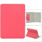 360 Degree Rotation PU Leather Case w/ Auto Sleep for Ipad AIR - Deep Pink