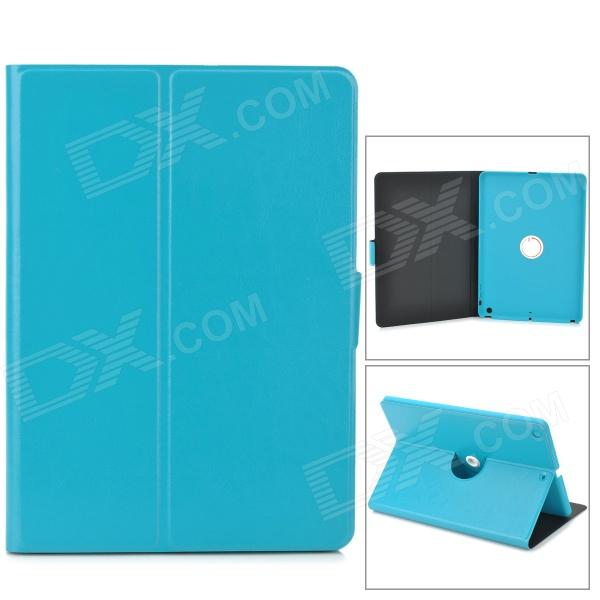 360 Degree Rotation PU Leather Case w/ Auto Sleep for Ipad AIR - Light Blue enkay 360 degree rotation protective case w stand auto sleep for ipad air 2 deep blue