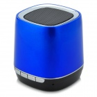 Portable Wireless Smart Bluetooth V2.0 MP3 Speaker w/ 3.5mm / Mini USB / TF - Blue