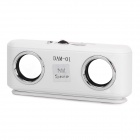 USB Rechargeable Portable MP3 Music Stereo Speaker with SD/USB/Cell Phone Adapters (3.5mm)