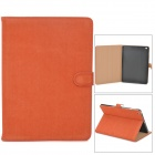 Protecitve Flip Open PU-Leder Fall w / Auto-Sleep für iPad Air - Rufous