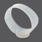 Silicone Magnetic Fitness Slimming Loss Weight Body Toe Rings - Translucent White (4 PCS)