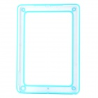 Protective ABS + Silicone Bumper Frame for Ipad AIR - Light Blue + Transparent